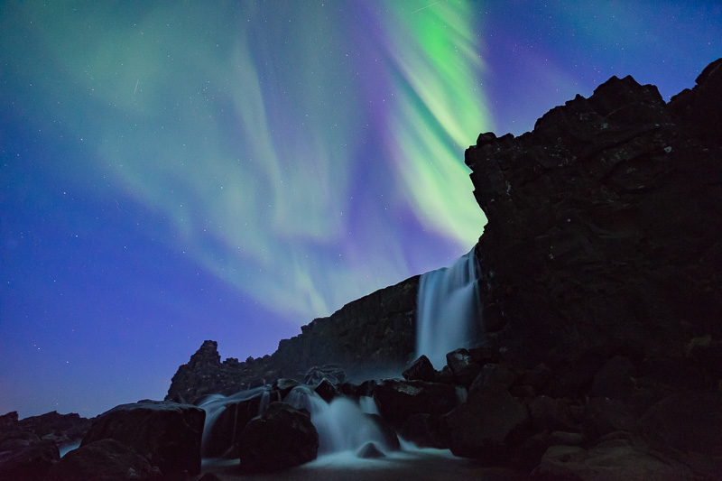 The big final: Aurora at Þingvellir