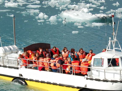 Glacier Lagoon with boat trip via RE * 14h* ISK 26.200