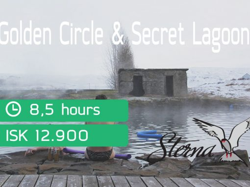 Golden Circle – Secret Lagoon via Sterna