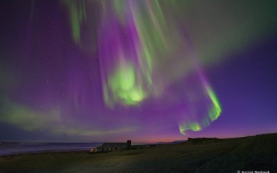 Aurora at Búðadalur