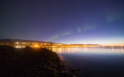 Aurora at Akureyri 30.08.2017