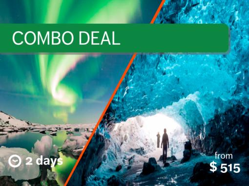 2 Day South Coast – Ice Cave, Skaftafell & Jökulsárlon Glacier Lagoon