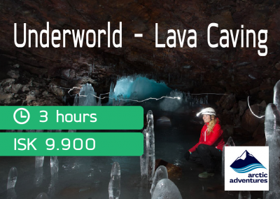 UNDERWOLRD CAVING TOUR