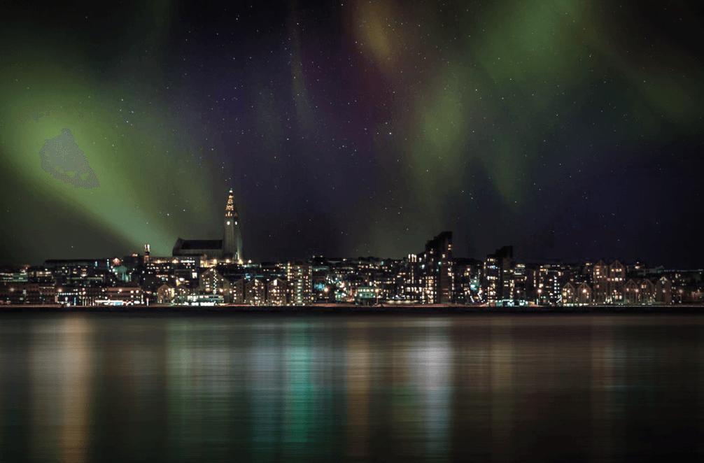 Northern Lights via Harpa Yachts
