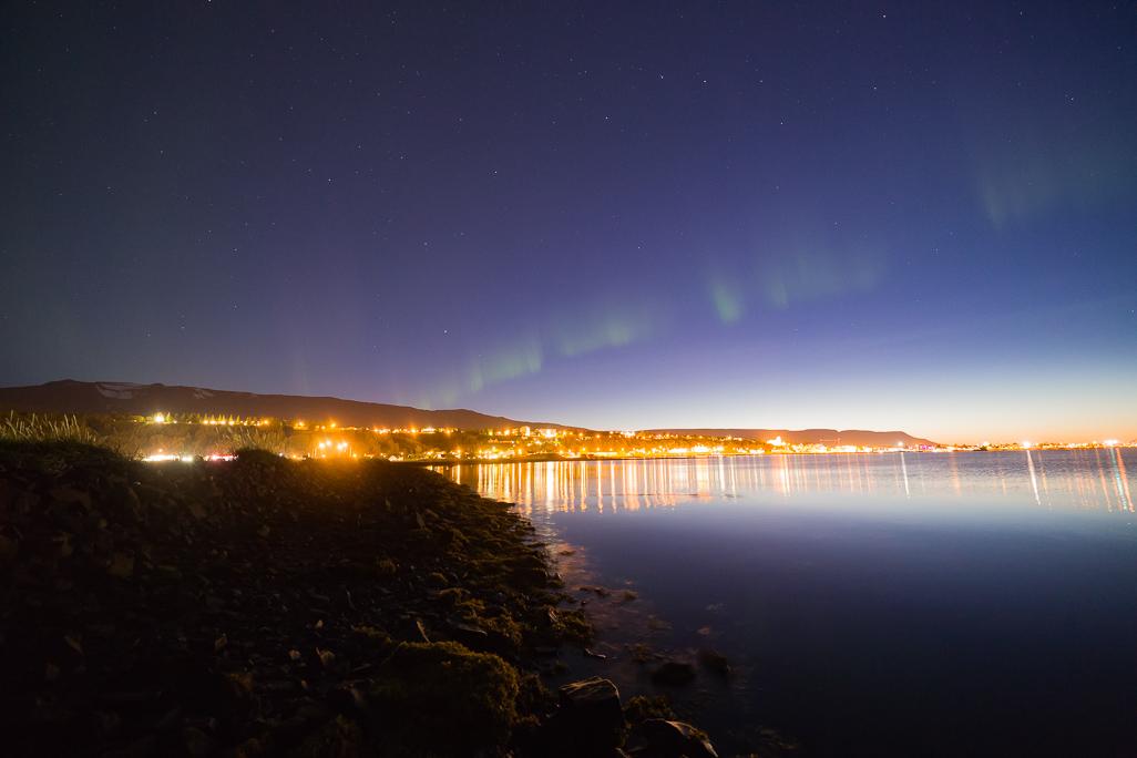 Aurora at Akureyri 30.08.2017 (1 of 2)