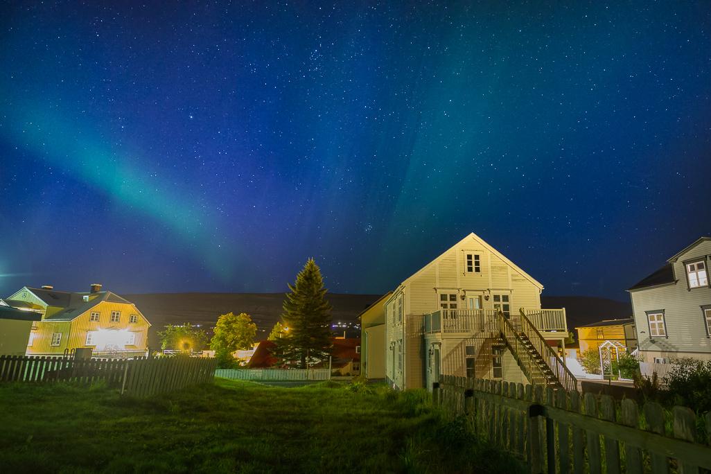 Aurora at Akureyri 30.08.2017 (2 of 2)