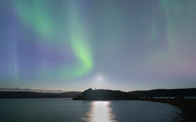 Aurora at Kleifarvatn 09.09.2017