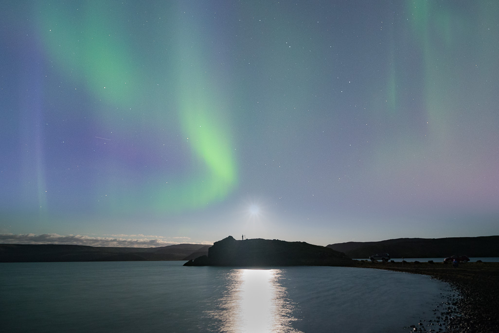 Aurora at Kleifarvatn 09092017 (1 of 1)