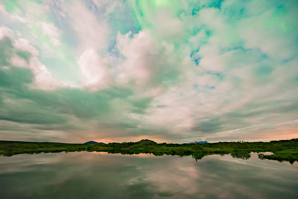 Aurora at Thingvellir 07.09.2017 (1 of 1)