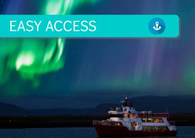 Crociera serale dell'aurora boreale