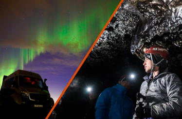 CAVING & NORTHERN LIGHTS – EARTH & SKY