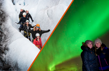 SENSATIONAL ICELAND – WATERFALLS, GLACIER HIKE & NORTHERN LIGHTS