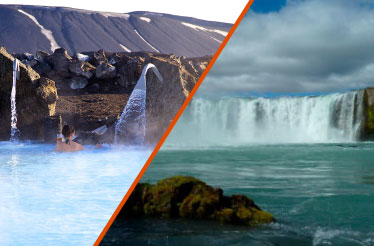 LAKE MYVATN, GODAFOSS AND LAVA FIELDS