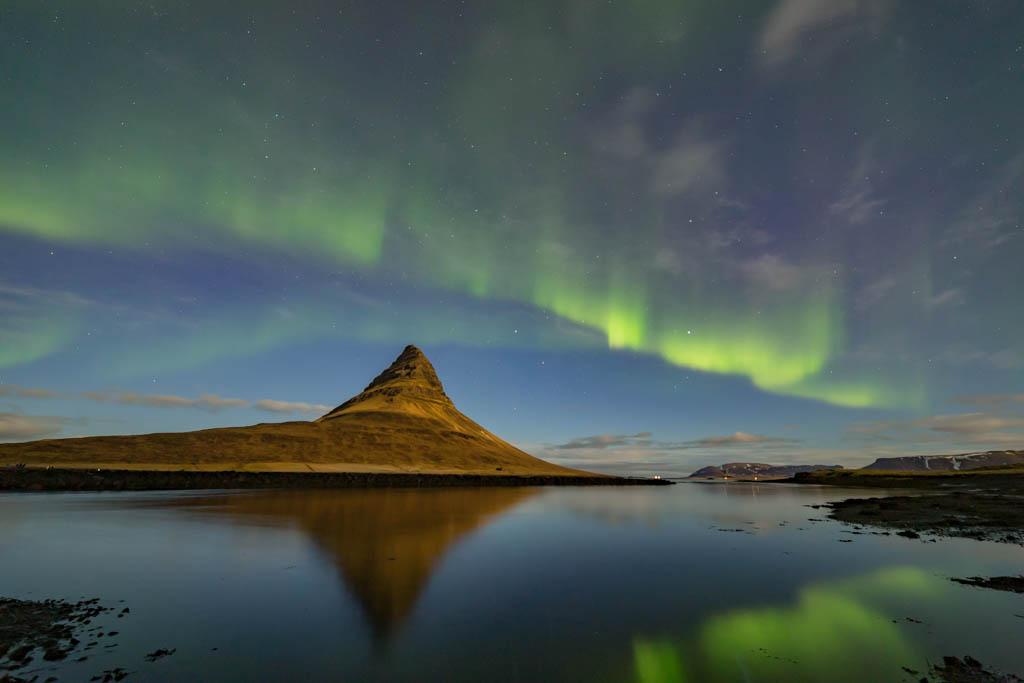 Aurora Reykjavík - Northern Lights at Kirkjufell