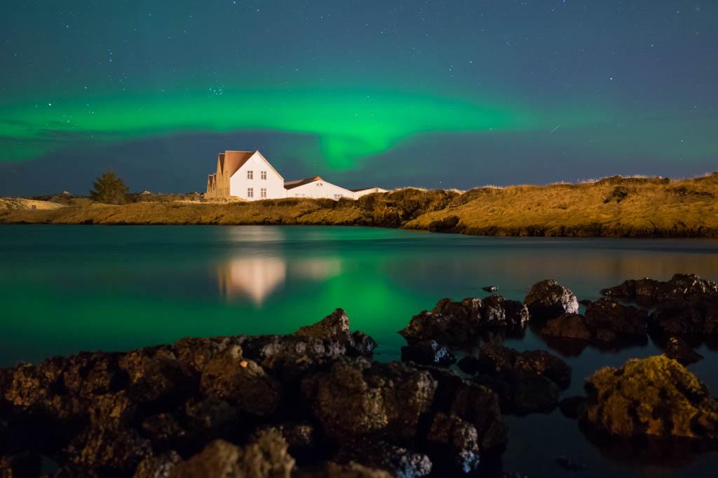 Aurora Reykjavik - Northern Lights at Straumur