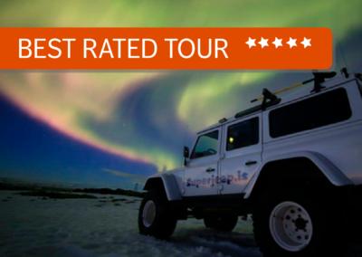 Tour dell'aurora boreale in superjeep