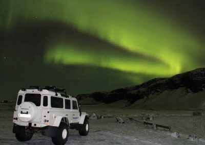 NORTHERN LIGHTS SUPERJEEP TOUR