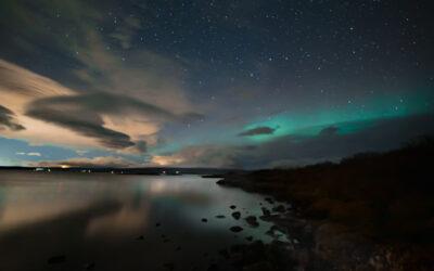 Northern Lights at Þingvellir, Oct 1st